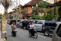 Strasse in Ubud, Bali