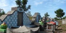 Der chinesische Friedhof in Ampenan, Lombok, Indonesien