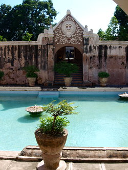 Taman Sari Wasserschloss in Yogyakarta, Java