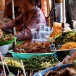 Markt in Yogyakarta, Java, Indonesien