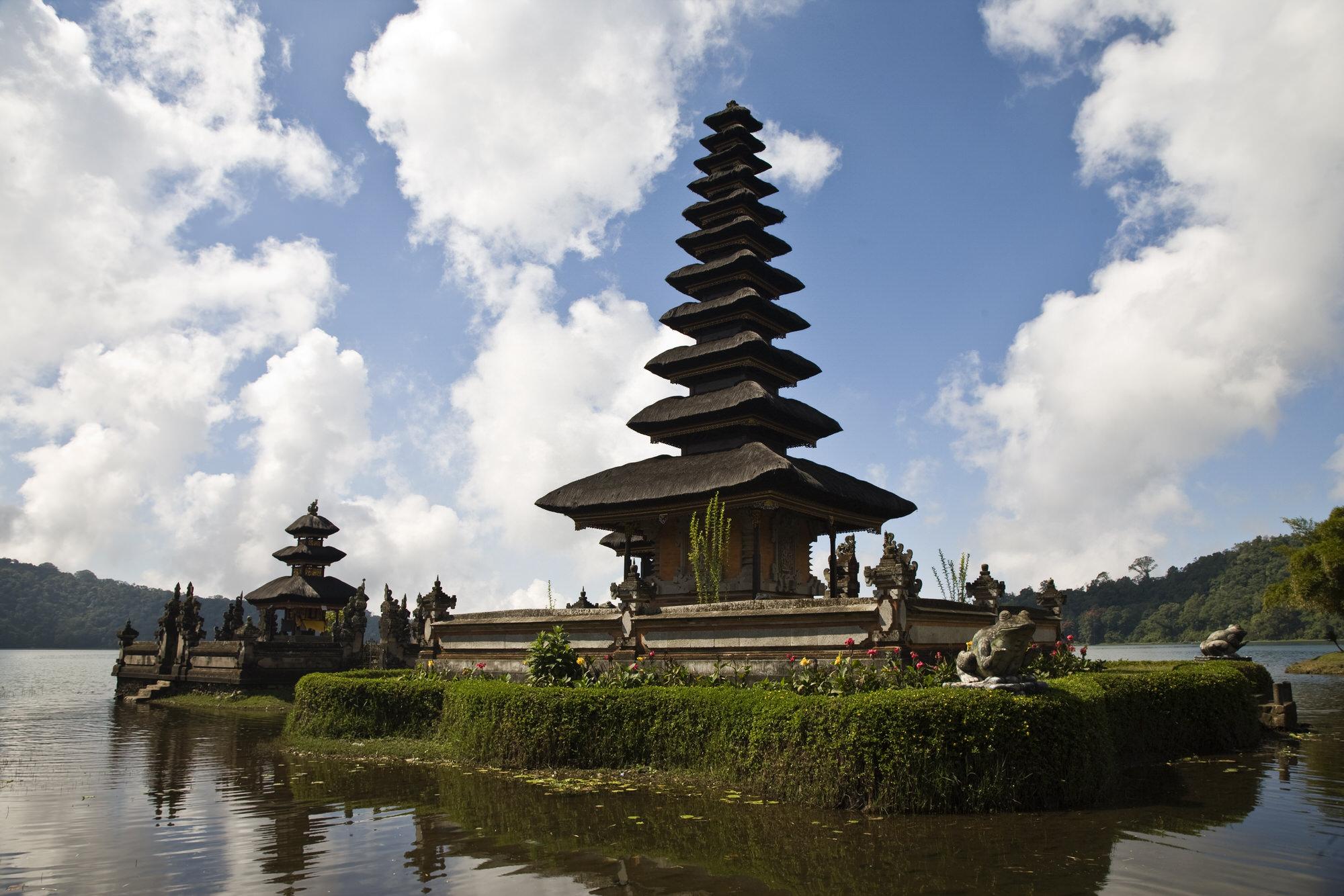 Der Pura Meru in Cakranegara, Lombok