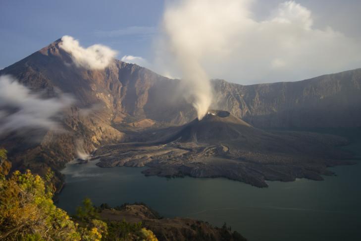 Der Gunung Rinjani auf Lombok