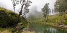 Nebel im Gunung Rinjani Nationalpark, Lombok