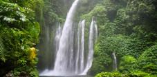 Tiu Keleb Wasserfall bei Senaru, Lombok
