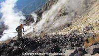 Kraterboden des Gunung Tambora, Sumbawa, Indonesien